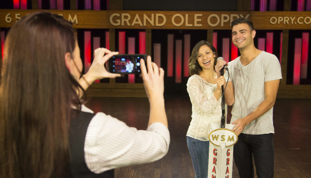 On Stage - Grand Ole Opry