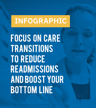 Infographic | Focus on care transitions to reduce readmissions and boost your bottom line