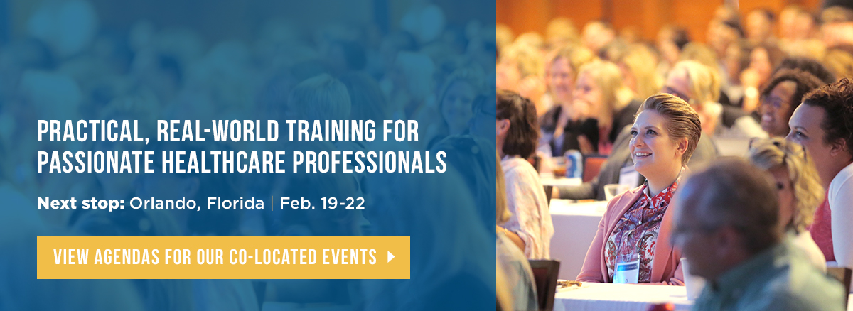Practical, real-world training for passionate healthcare professionals