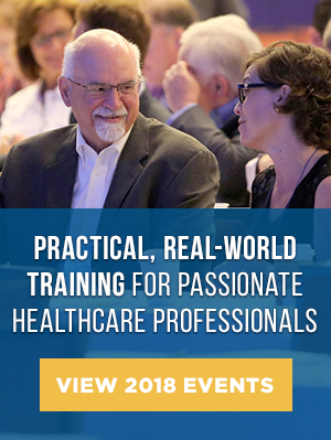 Practical, real-world training for passionate healthcare professionals  - View 2018 Events