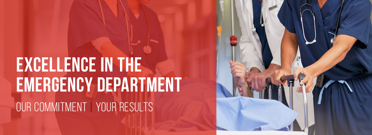 Excellence In The Emergency Department Our Commitment Your Results
