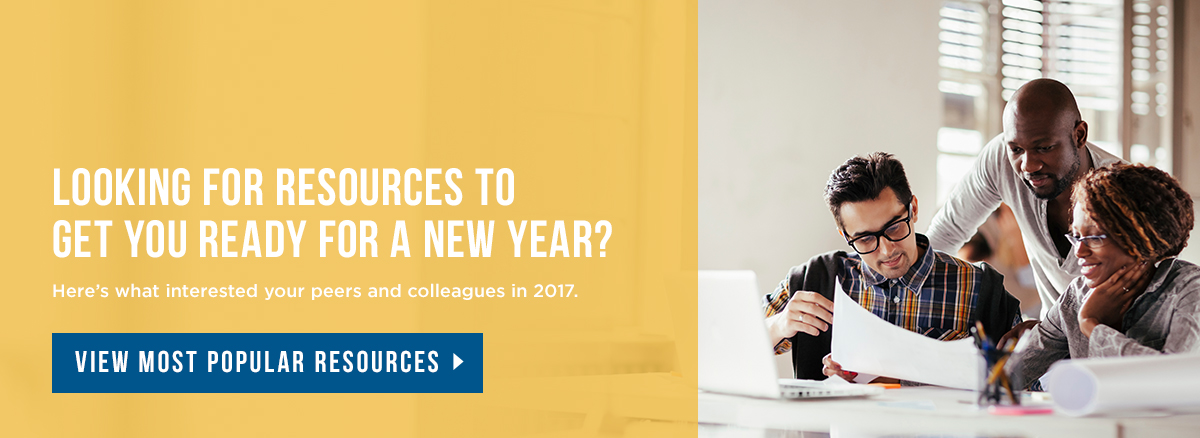 Looking for Resources to Get You Ready for a New Year