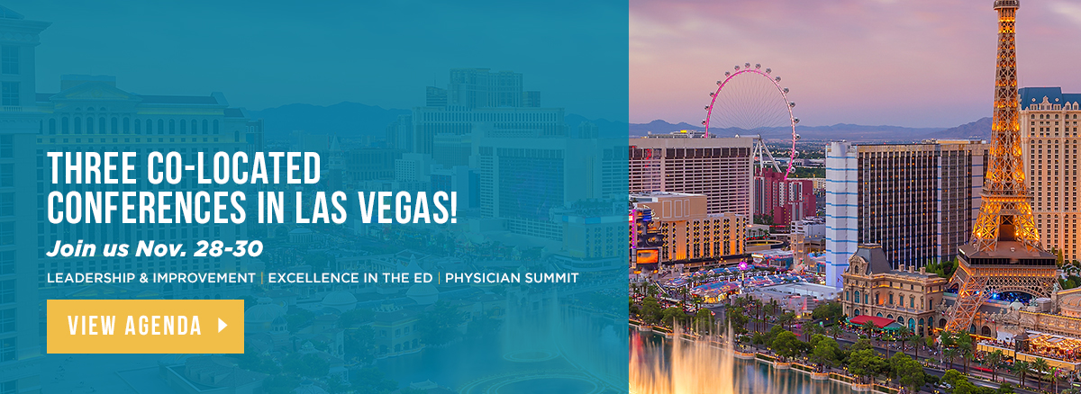 Three Co-located Conferences in Las Vegas