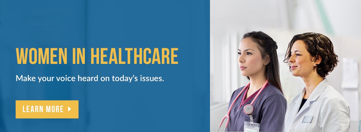 Women in Healthcare Survey Banner