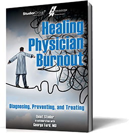 Healing Physician Burnout Book Cover
