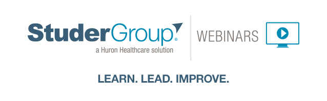 Healthcare improvement webinars
