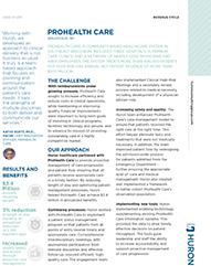 Prohealth Care Case Study Image